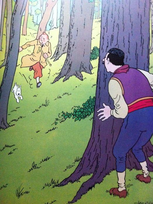 Tintin - Poster album