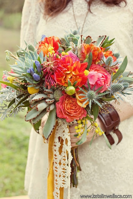 Love the assortment of vases - Found Vintage Rentals ...  |Bohemian Style Flowers