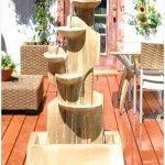 Fountain Of Stone With Four Levels, Which Is Suitable For Your Home