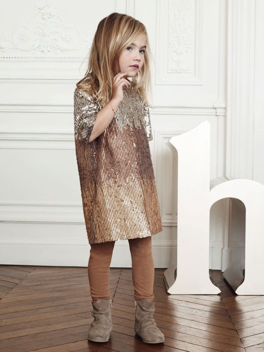kids fashion, dress, girl fashion, boots, tights, cute, brown, tan
