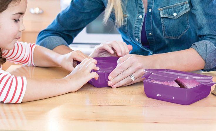 Finomságok tárháza mini kivitelben a Kitchytől.  #kitchen #lunch #kitchydesing #BPA-free