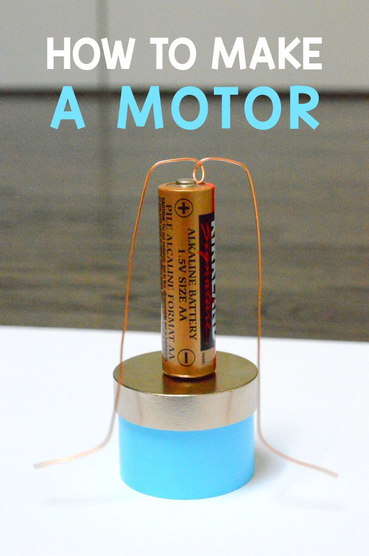 25 best ideas about electric motor on pinterest simple for Simple motors for kids