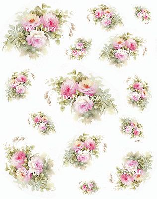 Large Vintage Rose Decals   WOW.com   Image Results