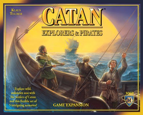 Catan: Explorers & Pirates Expansion 4th Edition Mayfair Games http://www.amazon.com/dp/B00B670TCU/ref=cm_sw_r_pi_dp_0Svvwb0TD0KMN