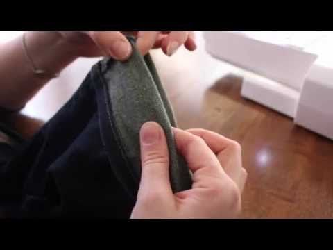 How to Shorten Your Jeans and Keep the Original Hem - YouTube