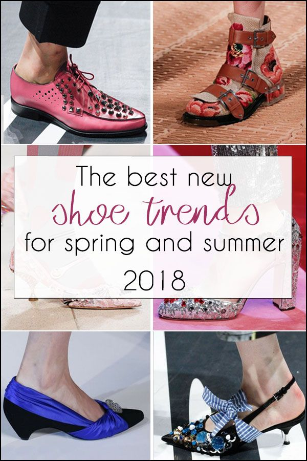 The best spring and summer shoe trends 2018 | 40plusstyle.com