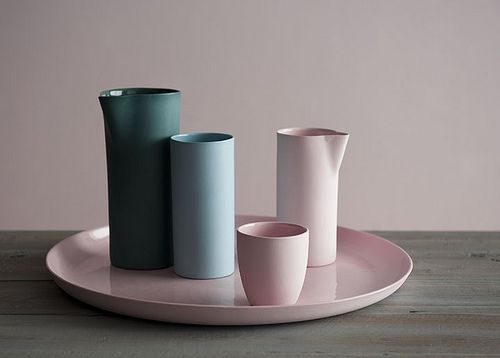 pastels and muted colors for ceramics