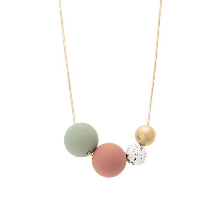 Buy the Boca Multi Rubber Bead Necklace at Oliver Bonas. Enjoy free worldwide standard delivery for orders over £50.