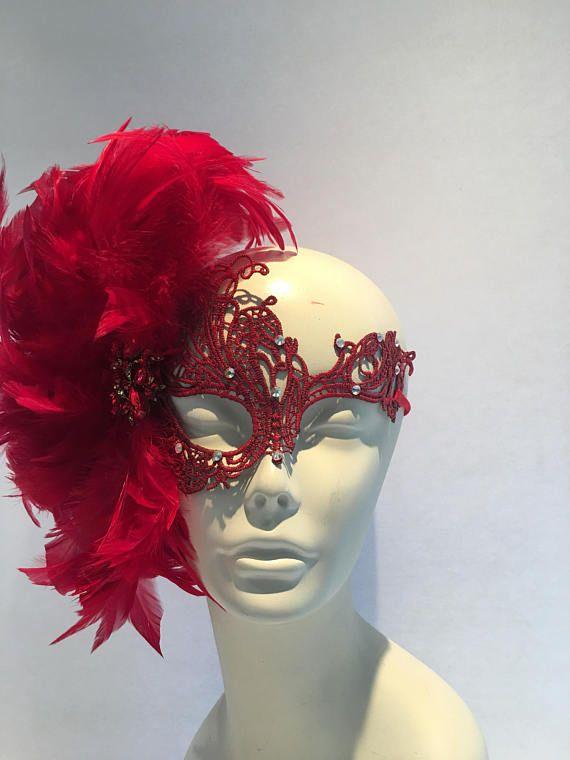 Red Masquerade MaskMasquerade Mask RedMask MasqueradeMasquerade MaskMasquerade Ball MaskHalloween Masquerade MaskMardi Gras Mask