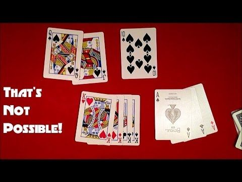 SIMPLY AMAZING Self Working Card Trick - YouTube