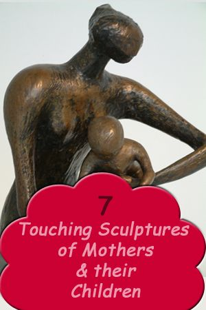 Beautiful, touching sculptures of mothers playing, reading and comforting their young children. No bound is a strong or as powerful.