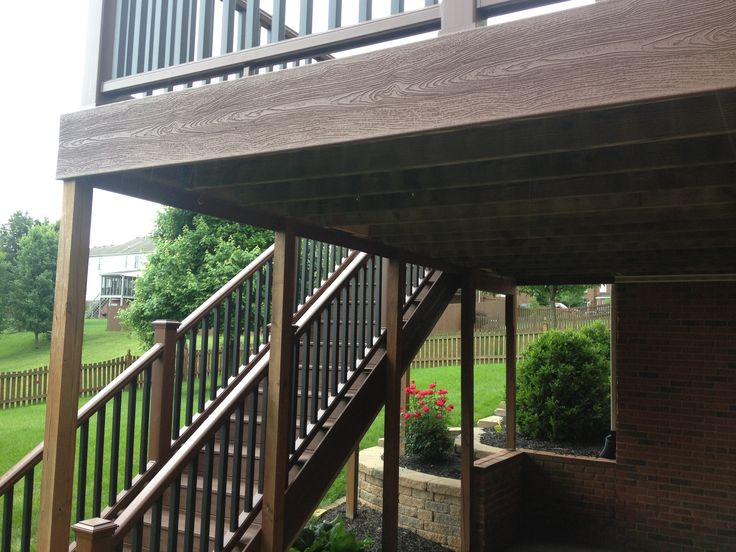 how to build trex stair railing