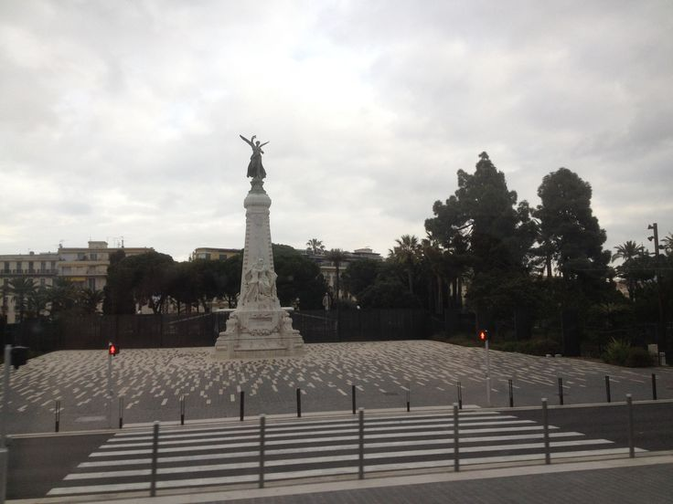 Nice - Jardin Albert 1er - Monument du Centenaire. By Stefania Antonelli