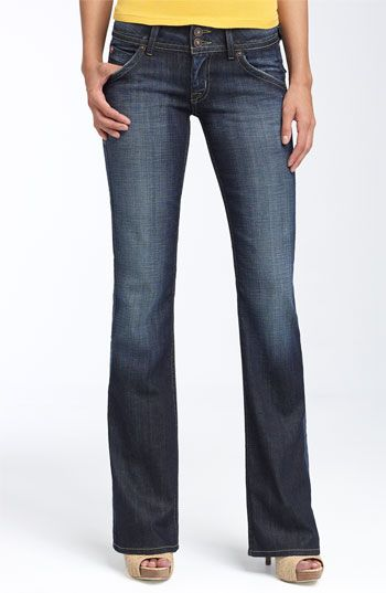 Hudson Jeans Signature Bootcut Stretch Jeans (Elm) (Petite) available at #Nordstrom