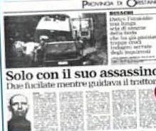 SCRIVOQUANDOVOGLIO: L'OMICIDIO DI GIOVANNI ANTONIO MELE A BUSACHI (26/...