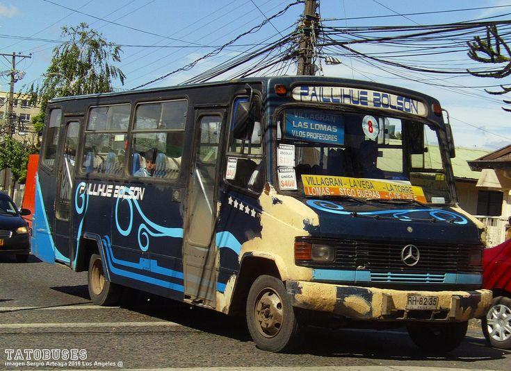 https://flic.kr/p/ZNEccM | ← Buses Linea 8 Los Angeles ©→ | Carrocerias LR - M.Benz - Urbano Los Angeles - imagen Sergio Arteaga 2016 - Los Angeles  (TATOBUSES)