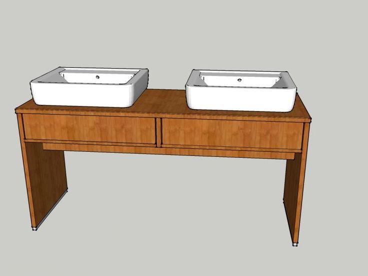 Waschtischunterschrank in Bambus – Bauanleitung zum Selberbauen – 1-2-do.com – Deine Heimwerker Community
