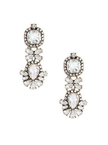 olive + piper Cavalier Crystal Earrings