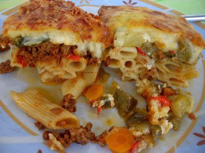 Tante Kiki: Διπλό παστίτσιο...με λαχανικά ή με κιμά