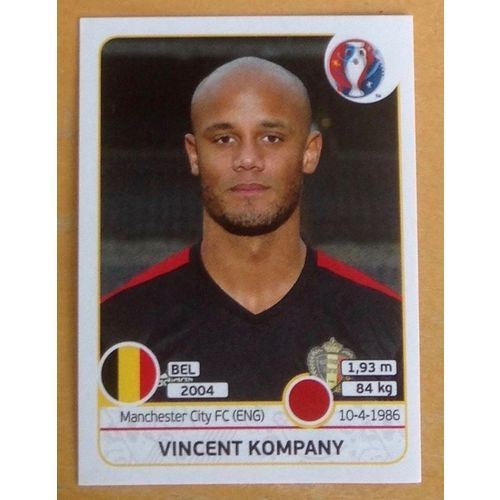 Football Soccer Sticker Panini UEFA Euro 2016 #467 Belgium