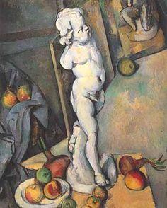 "Paul Cézanne, ""Natura morta con Cupido di gesso"", 1894, olio su tela. Londra, Courtauld Gallery"