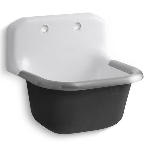 Bannon 24 Quot X 20 5 Quot Wall Mounted Service Sink Bathroom