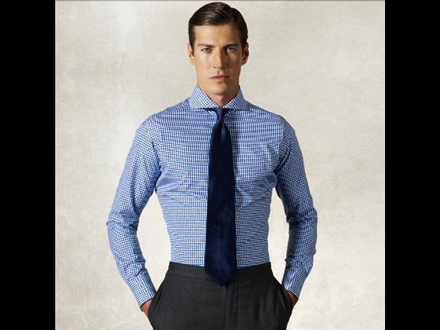 """The dress shirt's collar must allow them to slide 2 fingers down the neck band in collar and throat, as buttoned without restraining. There must be a room for moving and turning of customer head without blocking. This dress shirt must have an extra ¼ - ½"""" to permit to reduce.  Men must be able to move arms without any hesitation across the shoulders. The shirt's body must not be shapeless or baggy, nor should it pucker or pull.  Next cuffs must be tight that they…"""