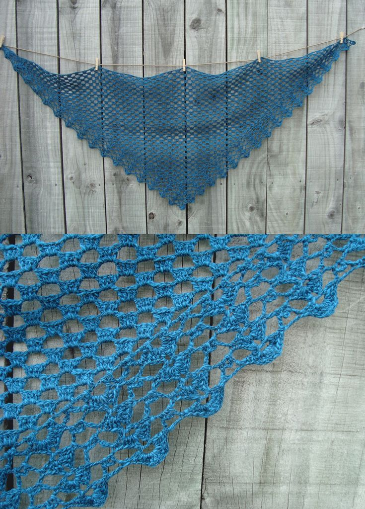 Crochet Shawl, from a Japanese pattern New items to ...