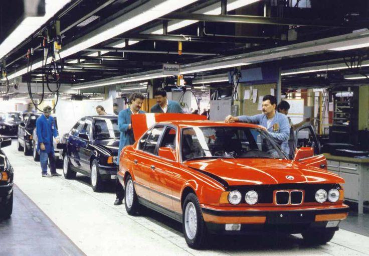Технические характеристики BMW 5 серии в кузове E34