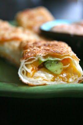 California Pizza Kitchen Avacado club Egg Rolls Recipe