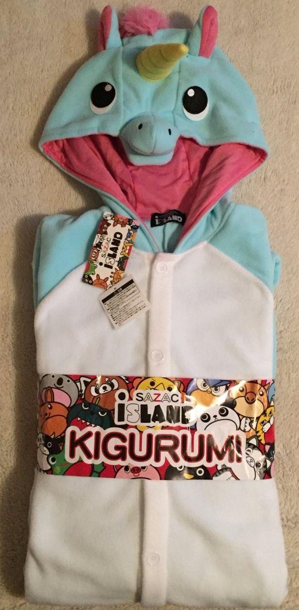 kigurumi mameluco pijama unicornio sazac original disfraz