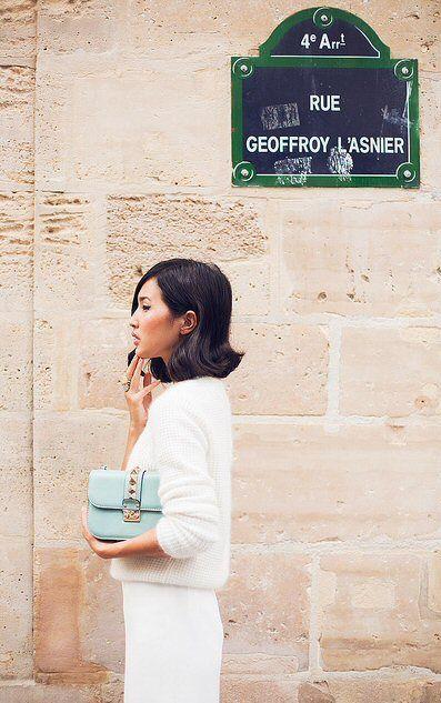 La rue Geoffroy-l'Asnier, très classe...  (Paris 4ème)