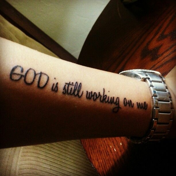 god quotes about life tattoos - photo #1