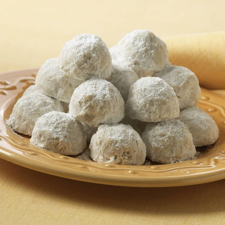 Pecan Cookie Balls | Recipe | Mouths, Tea cakes and Lost
