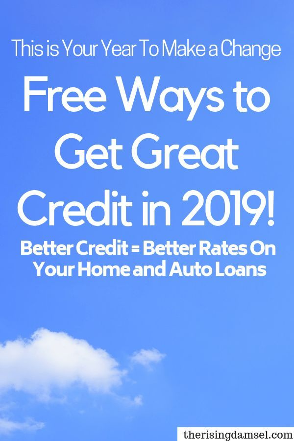 Credit Repair Tips To Secure Lower Loan Rates In 2019 Check