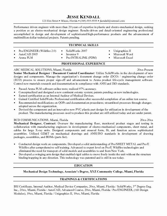 Mechanical Engineering Resume Templates Elegant Mechanical Designer Resume Templates Word Engineering Resume Templates Engineering Resume Resume Template Word