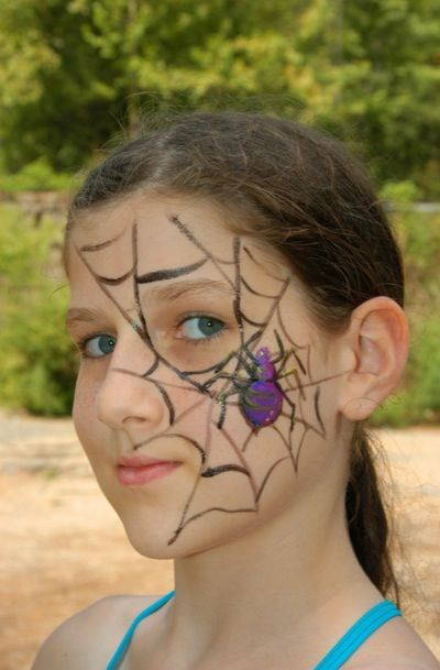 easy face painting designs for beginners | start face painting today with easy to follow instructions and photos ...