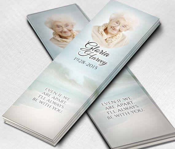 18 best Funeral Bookmarks / Signets Funéraires images on Pinterest