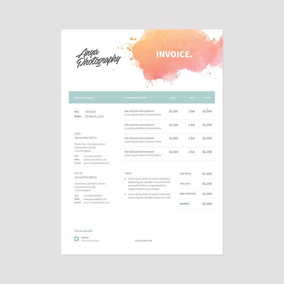 Invoice Price Honda Accord Pdf The  Best Receipt Template Ideas On Pinterest  Invoice  Print A Receipt Free Pdf with How To Make A Donation Receipt Excel Creative Invoice Template Instant Download  Receipt Template  Photoshop  And Invoice Template For Freelancers