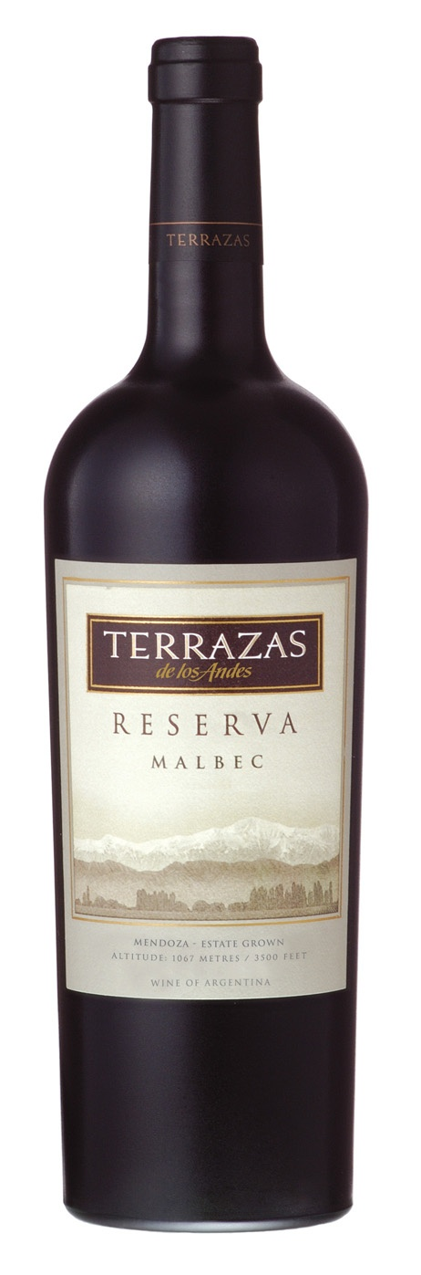 Thankful for this Malbec: Terrazas    Mendoza, Argentina