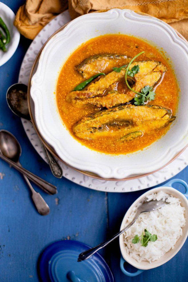 Sinfully Spicy ; Fish in a Light Mustard Sauce #indianfood #seafood #curry  BENGALI