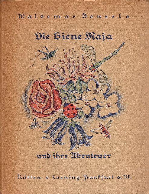 Waldemar Bonsels / Die Biene Maja und ihre Abenteuer by micky the pixel, via Flickr