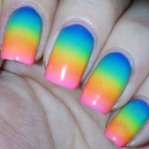 The 25 best sponge nail art ideas on pinterest ombre nail art awesome sponge nail art 2017 prinsesfo Image collections