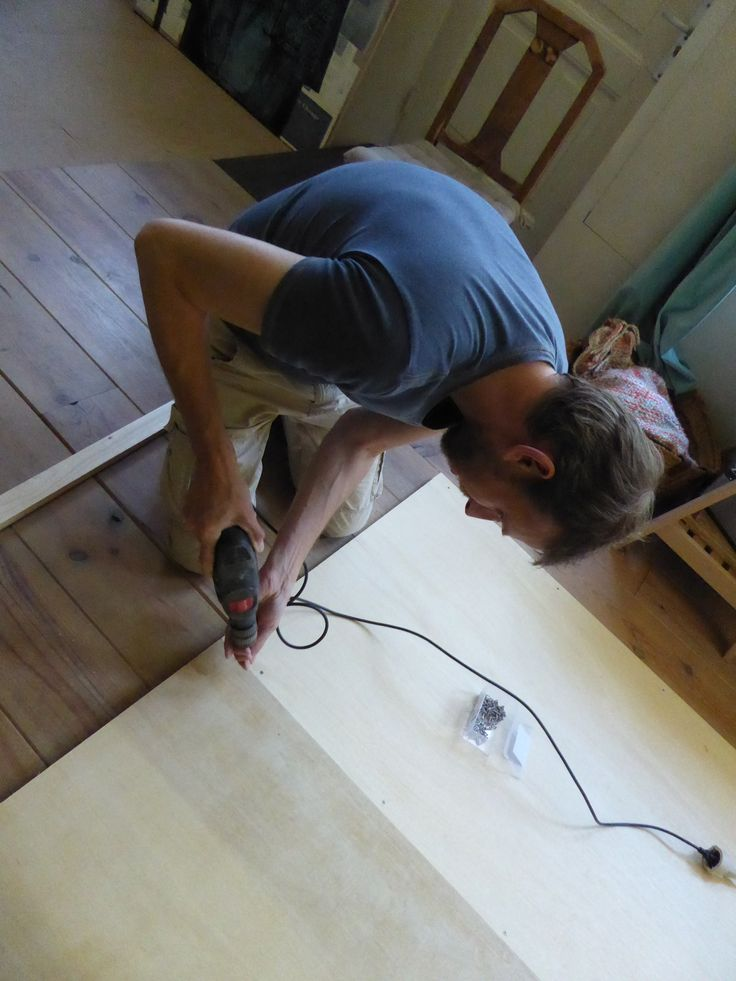"""Jean Paul helping prepping boards for """"Just Yvette"""""""