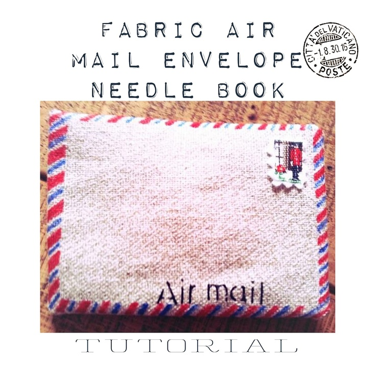 air mail needle book tutorial