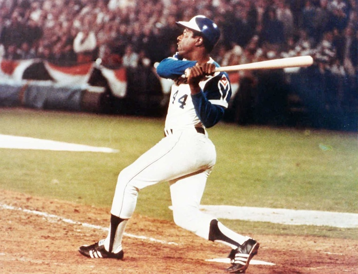 Image result for hank aaron becomes baseball career home run king