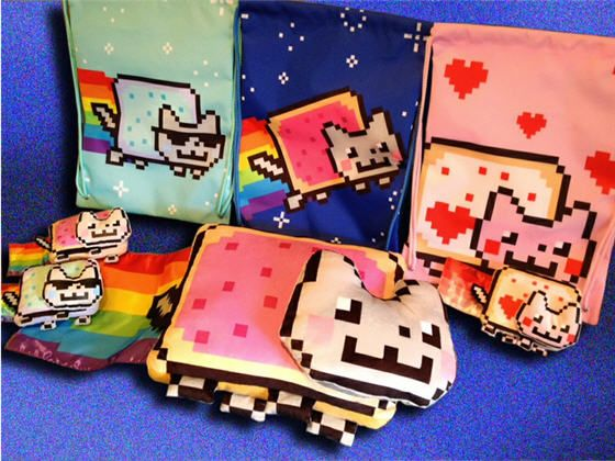 Jakks Pacific to launch Nyan Cat plush toysJakke Pacific, Cat Things, Gift Ideas, Official Nyan, Cat Merchandis, Cat Plushies, Nyan Cat, Plain Awesome, Cat Toys