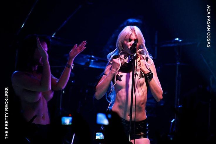 Taylor Momsen ✾ of The Pretty Reckless at Teatro Flores in Argentina! (July 29, 2012)