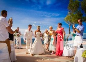 Real Zakynthos Wedding Photos - The Balcony - Jemma and Ash
