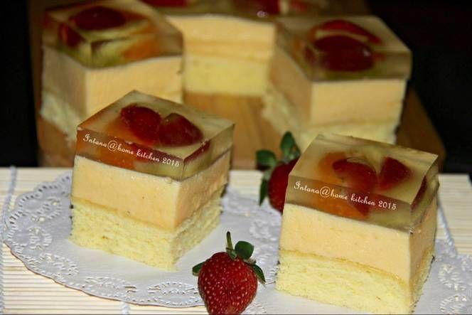 Resep Puding Cake Busa Fruity Oleh Intana Widodo Resep Resep Puding Resep Masakan